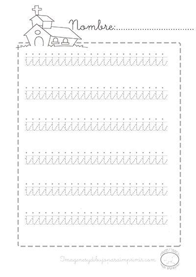 Caligrafia vocales minusculas