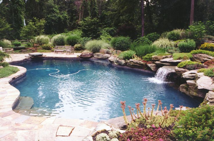 Water feature swimming pool in greenwich ct water for Garden grove pool fairfield