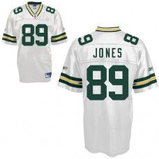 Packers #89 James Jones White Stitched NFL Jersey