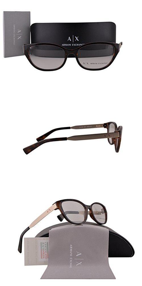 aabac2ad520b Armani Exchange AX3033 Eyeglasses 54-16-140 Tortoise 8037 AX 3033 in ...