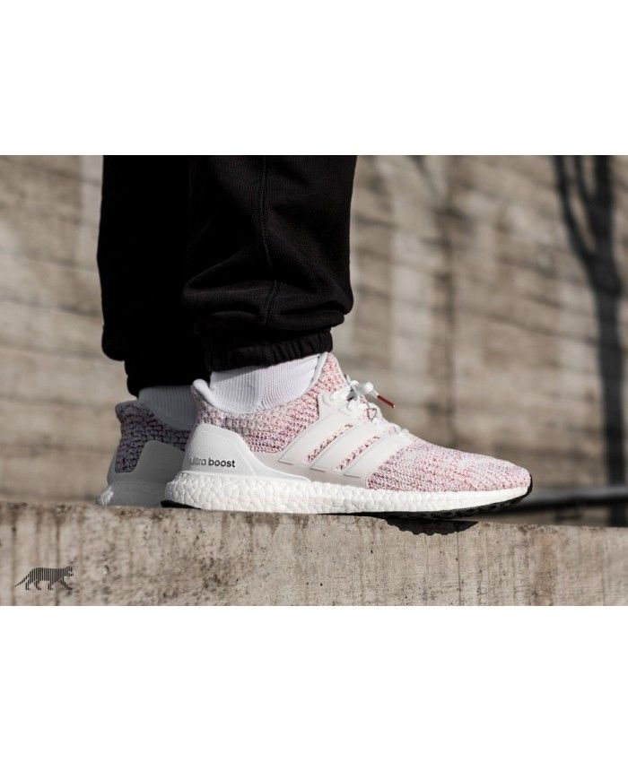 836527a98c42c Adidas Australia Ultra Boost Ftwr White Ftwr White Scarlet Trainers ...