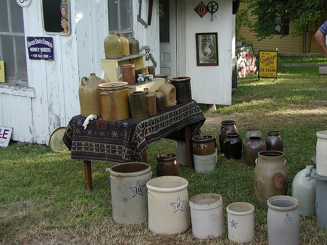 Antiques in Round Top