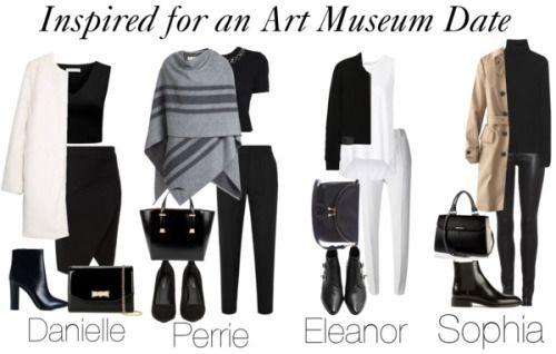 art museum outfit - Buscar con Google