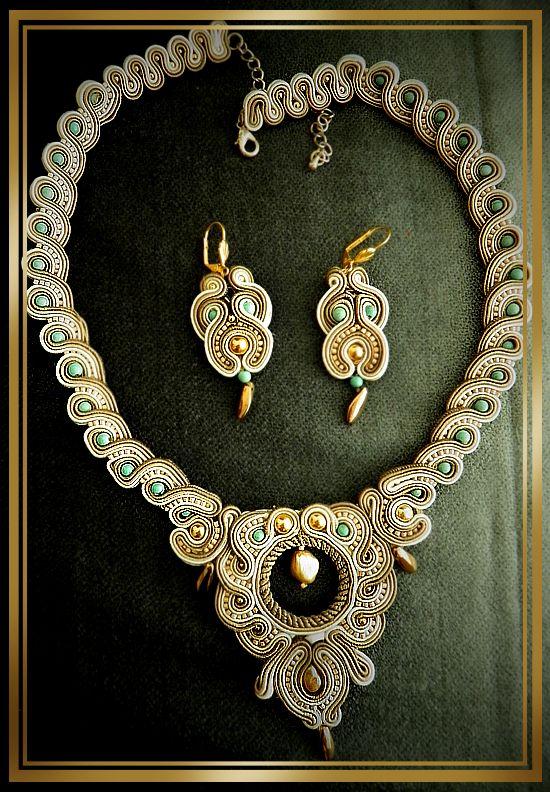 soutache handmaid jewelry by caricatalia on DeviantArt