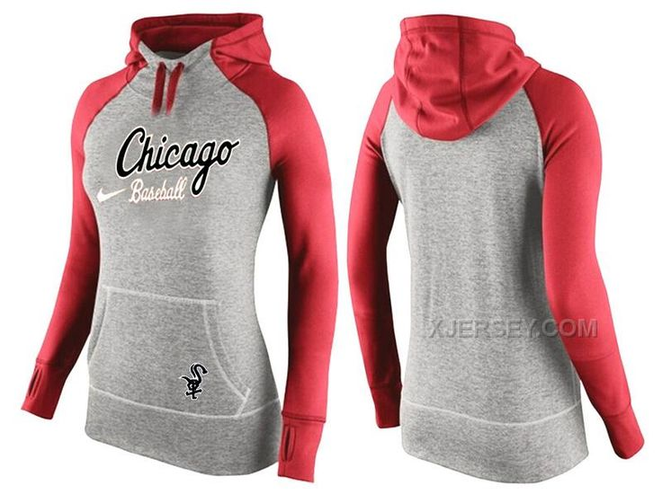 http://www.xjersey.com/white-sox-grey-pullover-women-hoodie5.html WHITE SOX GREY PULLOVER WOMEN HOODIE5 Only $45.00 , Free Shipping!