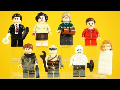 LEGO Twin Peaks & Mad Max: Fury Road | Citizen Brick Minifigure Review - YouTube