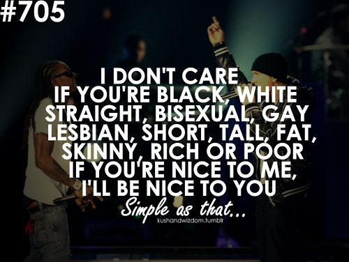eminem quotes i dont care if your - photo #16