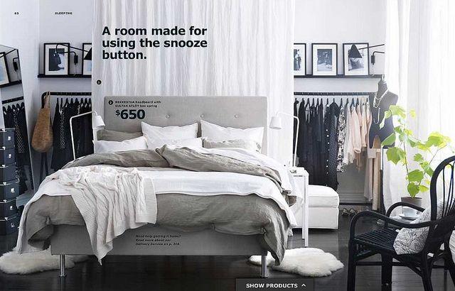 Great Ikea Idea, Iu0027m Definitely Considering It For Our Small Studio  Apartment!   Ikea Ideas   Pinterest   Studi, Letto Armadio E Ikea  Studio Apartment Ikea