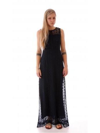 Kocca - Bekgor lace long dress in blue