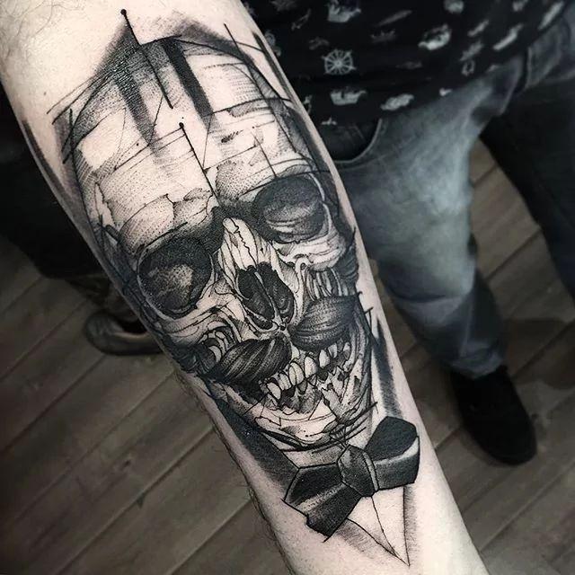 Blackwork Tattoos By Fredao Oliveira