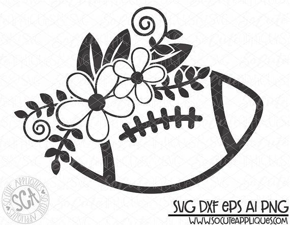 Football Svg Design Football Flower Svg Football Svg