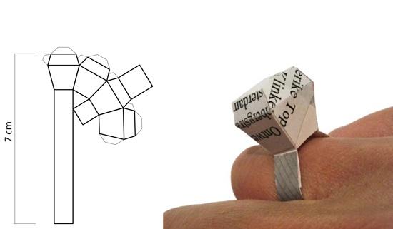 Origami ring!