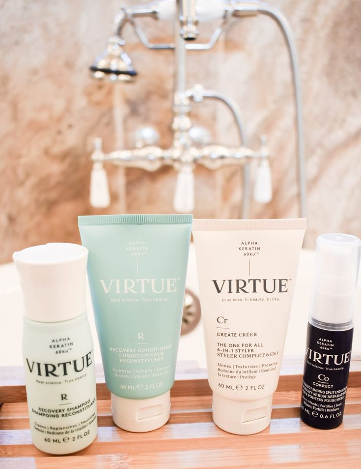 Virtue Labs Haircare Review | Cathedrals and Cafes Blog | Best Hair Products | Keratin Hair | Beauty Blogger