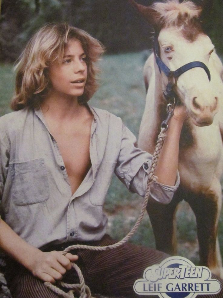 "Leif Garrett from ""SuperTeen"""