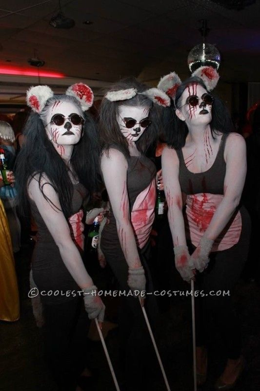 Scariest Three Blind Mice Costumes Ever!