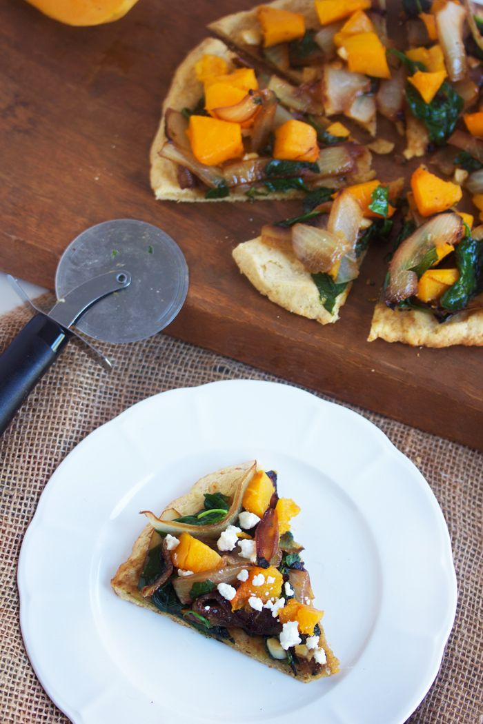 #2ways2percent: Butternut Squash Pizza and Creamy Butternut Squash Puree with Scallops and Bacon - Lexi's Clean Kitchen
