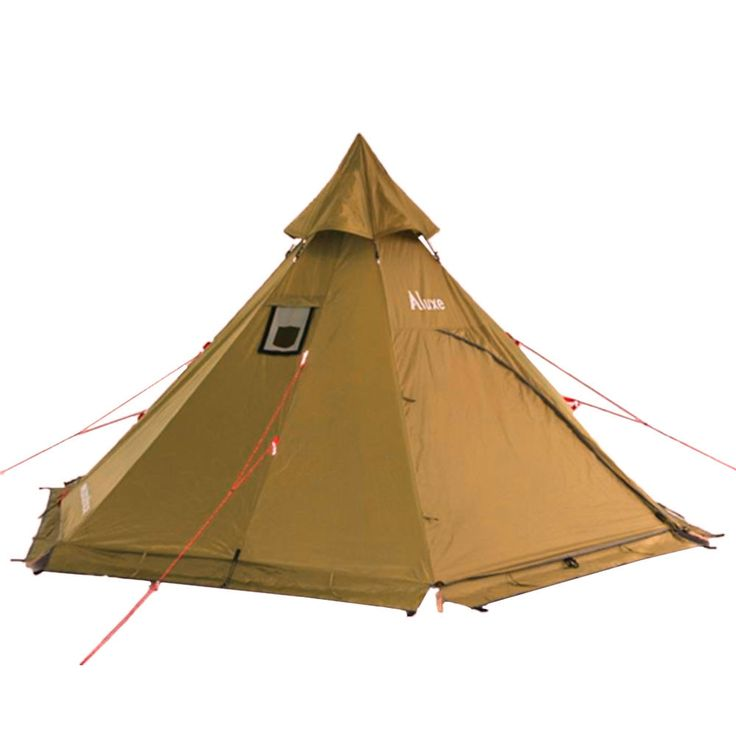 Megahorn (4P) Tipi Tent with Stove Jack