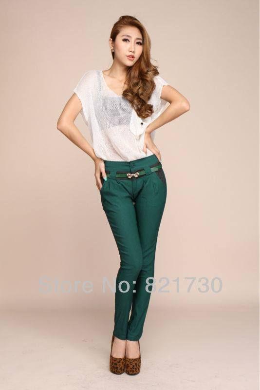 Lápiz pantalón - moda Coreana  Precio: $ 76.500 Estilo: Moda  Talla: S M L XL