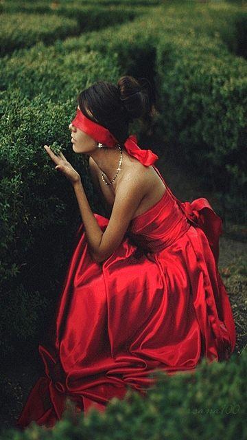 порно телка в красном фото
