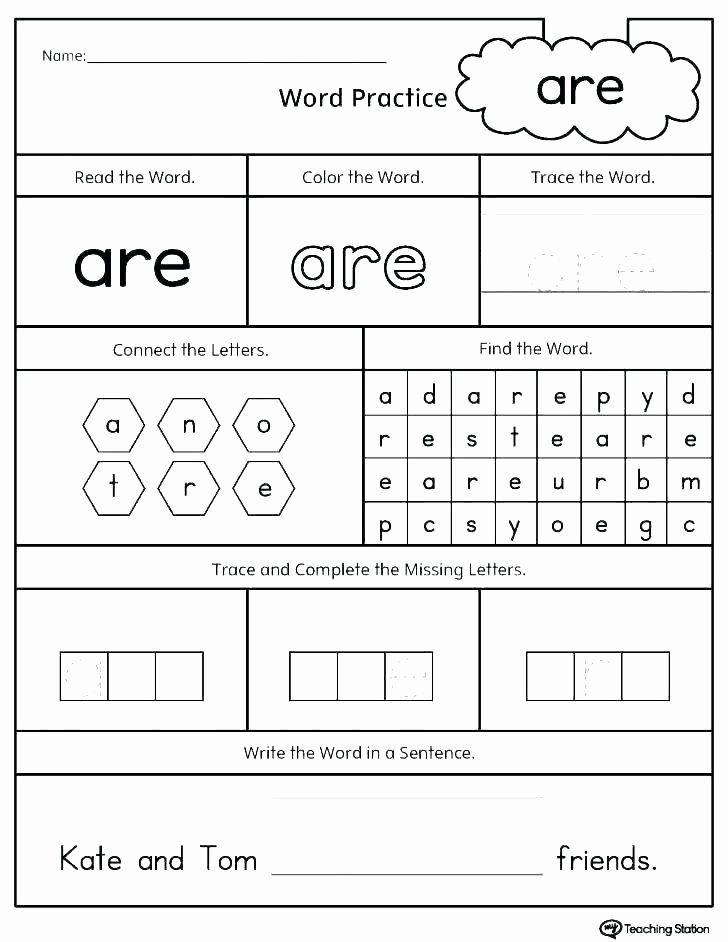 Opposites Worksheet For Kindergarten Ccvc Words Worksheets Kindergarten Sight  Words Kindergarten, Sight Word Worksheets, Kindergarten Worksheets Sight  Words