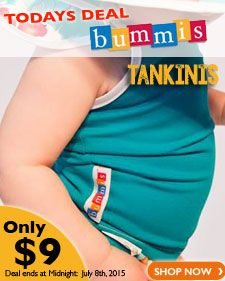 Today's Steal of a Deal • Bummis Tankinis now only $9.00!  Ends Midnight Tonight *while supplies last*
