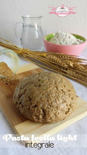 Ciao a tutti! Oggi vi propongo una ricetta sfiziosa e salutare, è la pasta frolla light integrale, squisita e leggera, perfetta per tutti i dolci in cui è