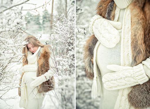 идеи для фотосессии зимой 2