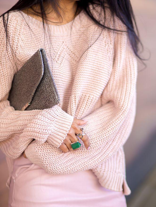 Combinação linda... Rosa + Verde!: