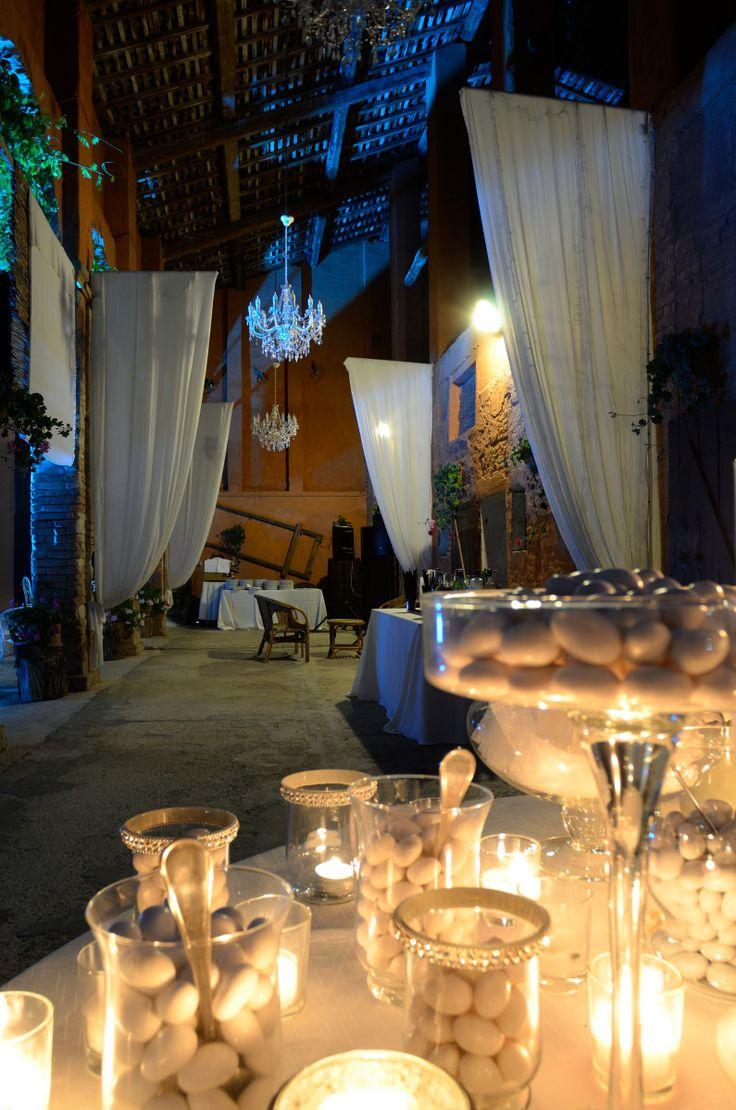 Portico della barchessa. Corte Dei Paduli - Wedding Location - Reggio Emilia, Italy.