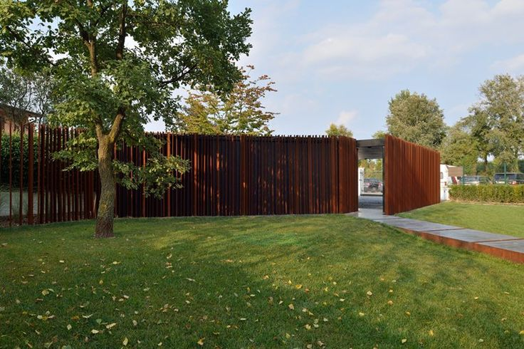 corten fence a-dynamic-garden