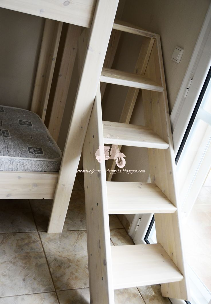 Handmade kids bunk bed!!