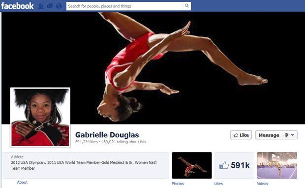 Atletas dos Jogos Olímpicos ganharam reconhecimento no Facebook