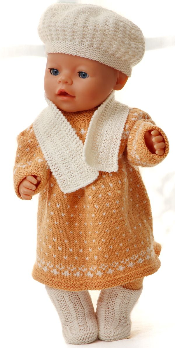 Baby Doll Clothes Knitting Patterns : 17 Best images about BabyBorn kleertjes on Pinterest Baby knitting patterns...