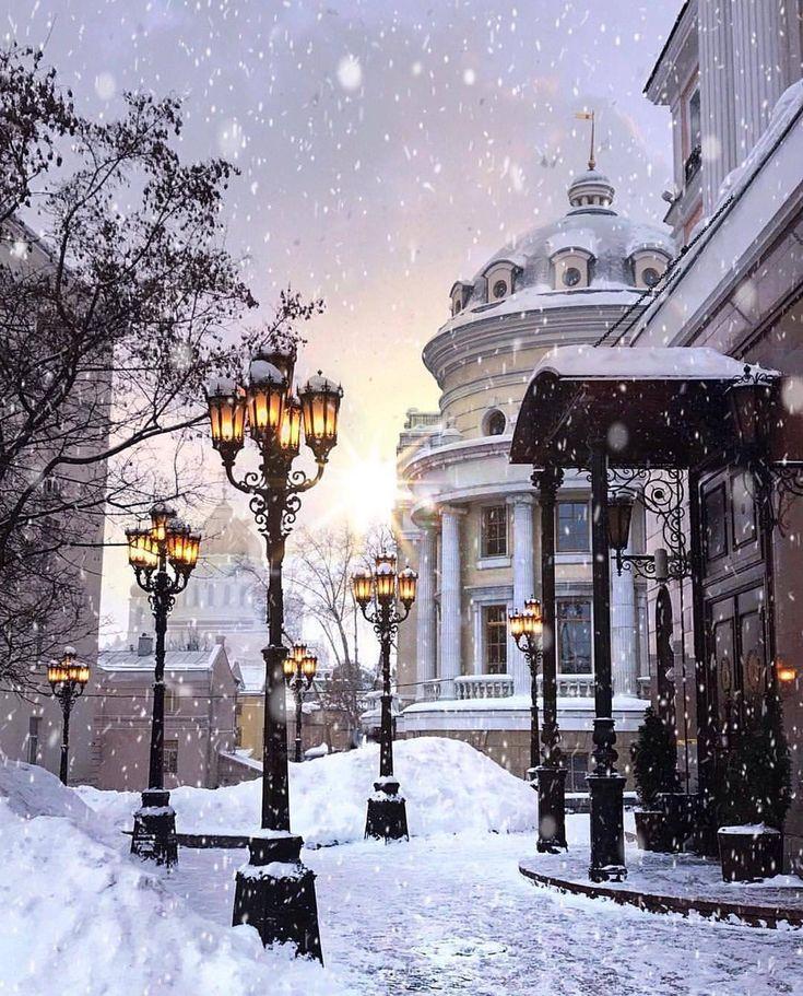 картинки снежность в городе сочетание характерно также