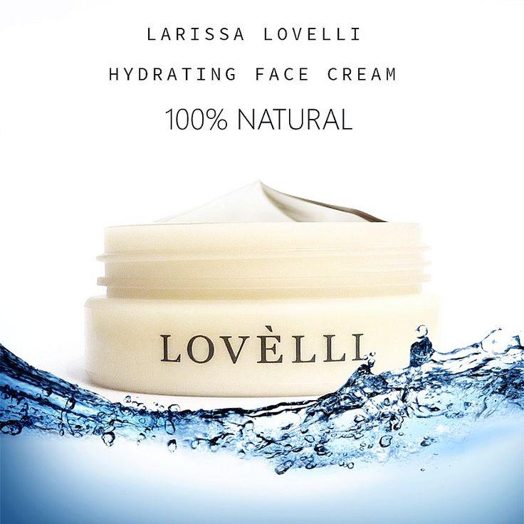 All you need is hydration!  #larissalovelli #moisturiser #moisturizer