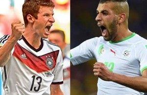 Suivez le match Algérie – Allemagne en direct (résumé, score et buts). Le résultat de ce match de la Coupe du Monde entre Equipe algérienne de football (Les Fennecs) et Equipe d'Allemagne de football est à suivre en live à partir de 22h00.