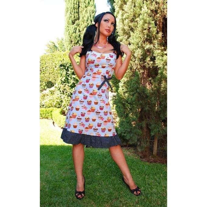 I want this! Cupcake Sun Dress