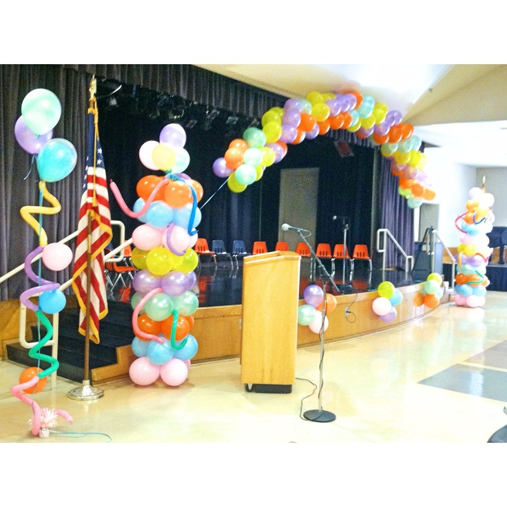 Oh the places you'll go balloons. I made these for a pre-k graduation celebration. They turned out great!