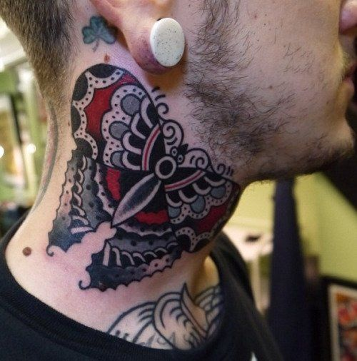 17 best images about neck tattoos on pinterest back neck for Tattoos when you get old