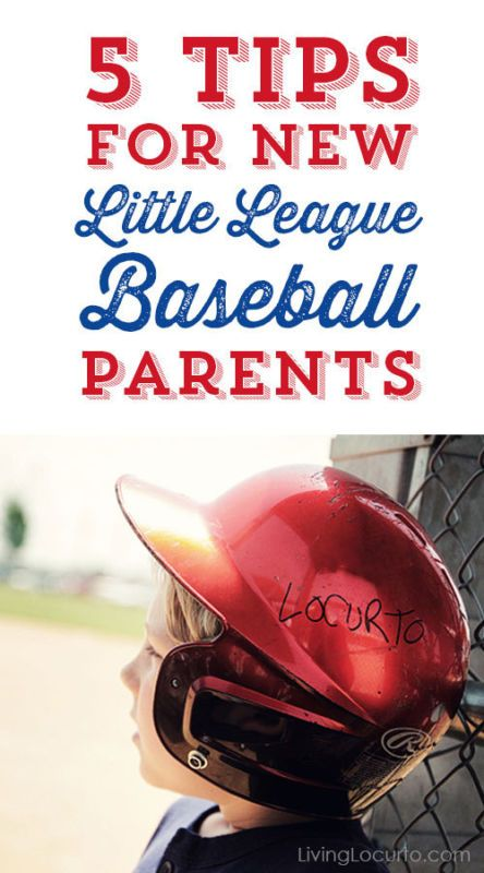 5 Tips for New Little League Baseball Parents