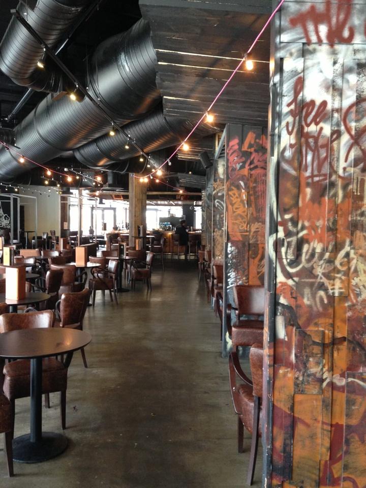 Client: Za Za Bazaa - restaurant graffiti interior - #graffiti #design