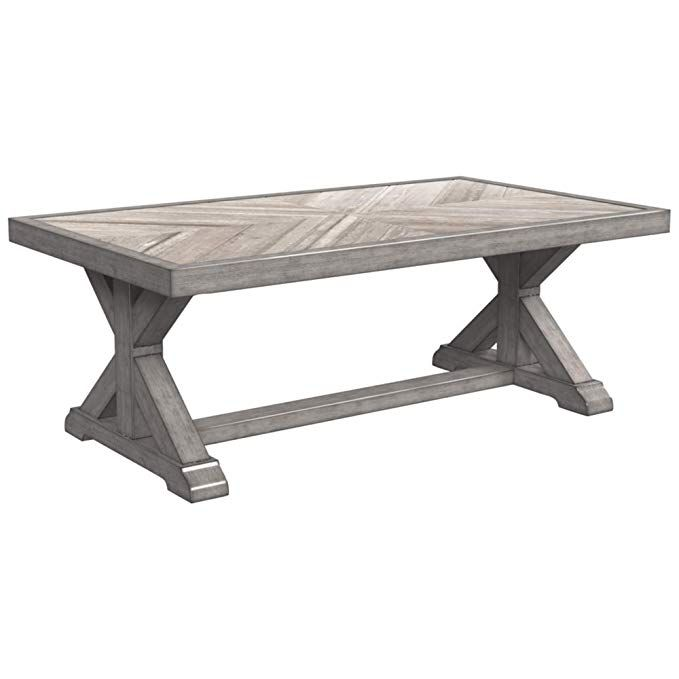 Ashley Furniture Signature Design Beachcroft Outdoor Rectangular