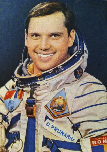 Dumitru Prunariu - First Romanian man in space.