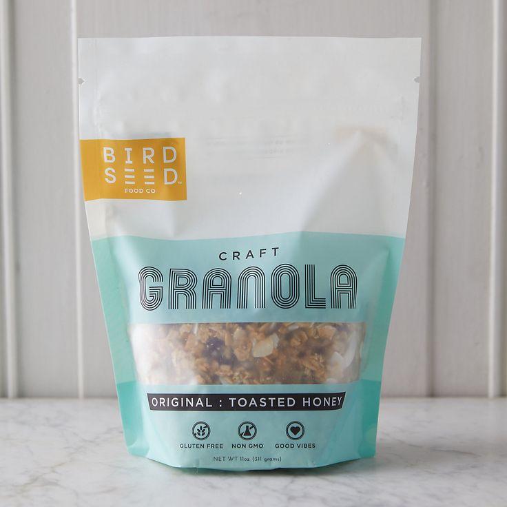 Toasted Honey Granola