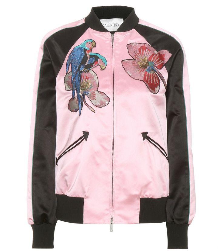 0527776cf69a7 rainbow satin bomber jacket - Ecosia
