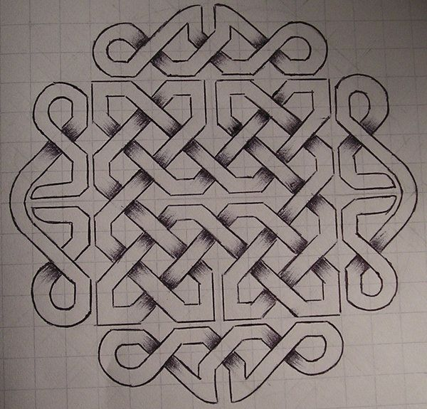 celtic knot 1 by ~virusoverload on deviantART