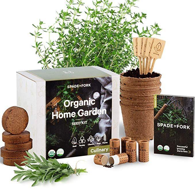 Indoor Herb Garden Starter Kit Certified