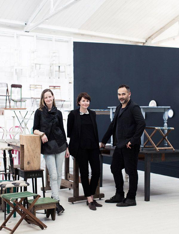 The Team at The Establishment Studios 2012 : Rachael Hart, Carly Spooner & Glen Proebstel (image Sean Fennessy)