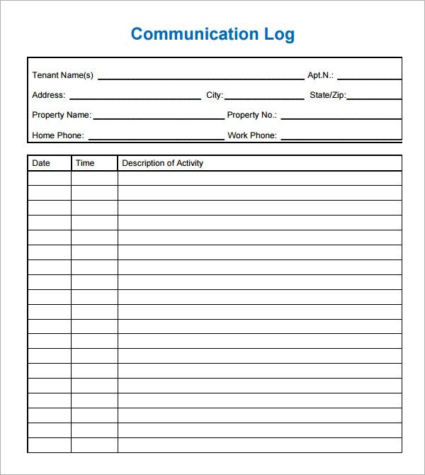 Conversation Log Template Saferbrowser Yahoo Image Search