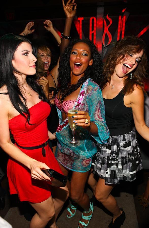 Girls night out party sacramento, flashing lights black spots no pain